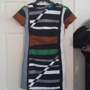 Derek Lam striped dress